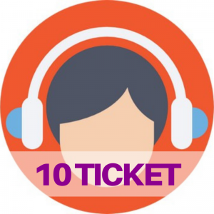 10 ticket assistenza web e social