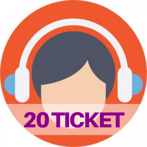 ticket assistenza web e social