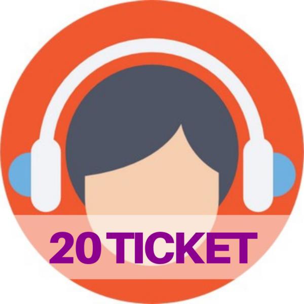 ticket assistenza web e social