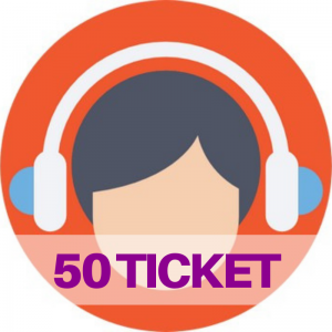 50 ticket assistenza web e social