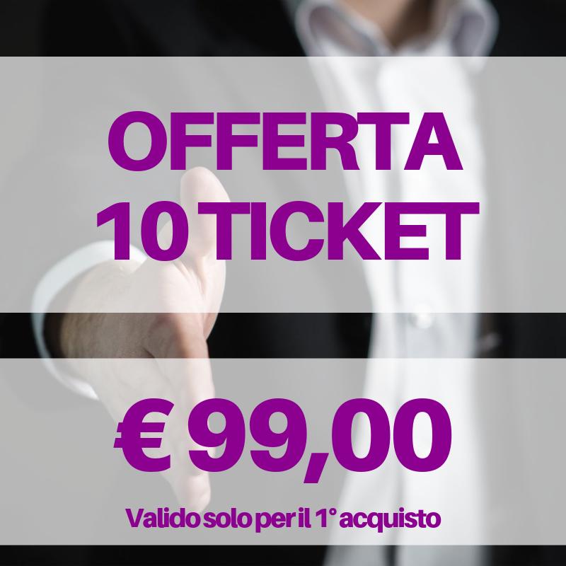 10 ticket assistenza web